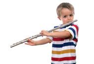 flauta niño posición incorrecta