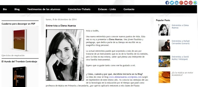 Entrevista Elena Muerza