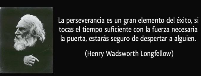 Frase perseverancia