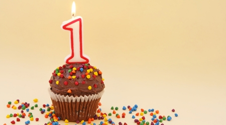 Elena Muerza- primer cumpleaños